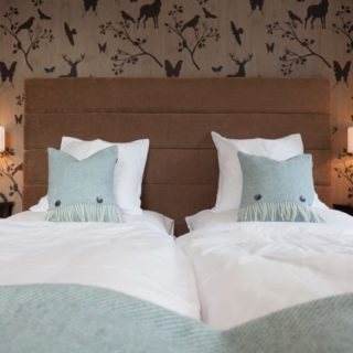 Bedroom furniture at Hotel Bellevue by DeFrae Contract Furniture