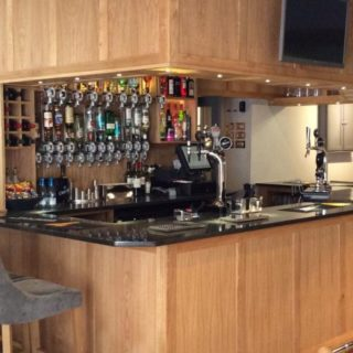 Bar furniture at Inn at Brough by DeFrae Contract Furniture