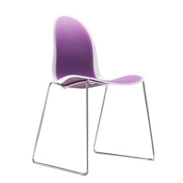 The 3x2 side chair is a comfortable and creative chair with a strong personality making it ideal for all contract environments.