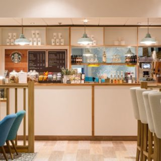 Riviera Conference Centre restaurant and bar furniture by DeFrae Contract Furniture