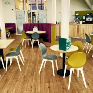 Waterview Restaurant Tittesworth Water Visitor Centre Restaurant furniture by DeFrae Contract Furniture