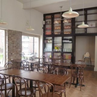 Restaurant furniture by DeFrae Contract Furniture at Free State Kitchen