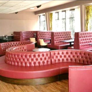 BBC Club restaurant furniture by DeFrae Contract Furniture