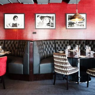 Restaurant Furniture by DeFrae Contract Furniture at Marco Pierre White Marcos New York Italian