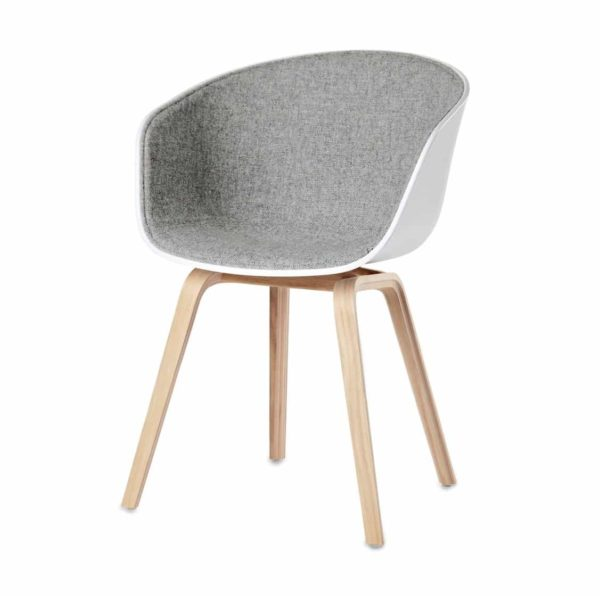 About AAC Armchair at DeFrae Contract Furniture Upholstered Seat Beech Wood frame