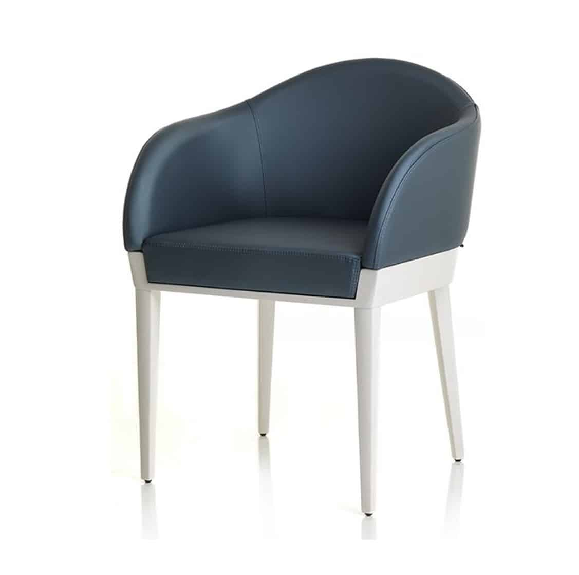Agata armchair available from DeFrae Contract Furniture Alma Design