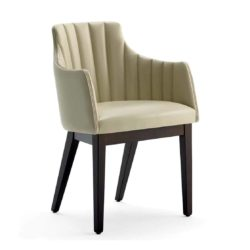 Albert One SCL Armchair DeFrae Contract Furniture Splendid Fluted Back