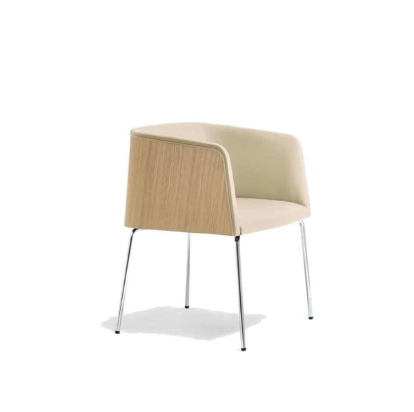 Allure Armchair 738 Pedrali at DeFrae Contract Furniture
