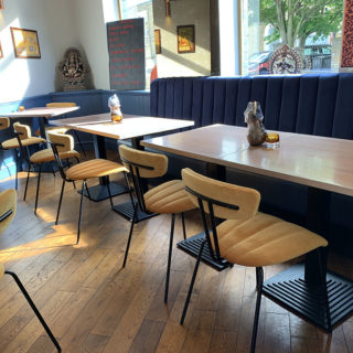 Amy Side Chairs at Tandoor at The Chambers by DeFrae Contract Furniture 2