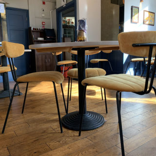 Amy Side Chairs at Tandoor at The Chambers by DeFrae Contract Furniture 3