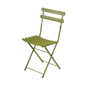 Arc en ciel folding outdoor chair from Emu available from DeFrae Contract Furniture Green