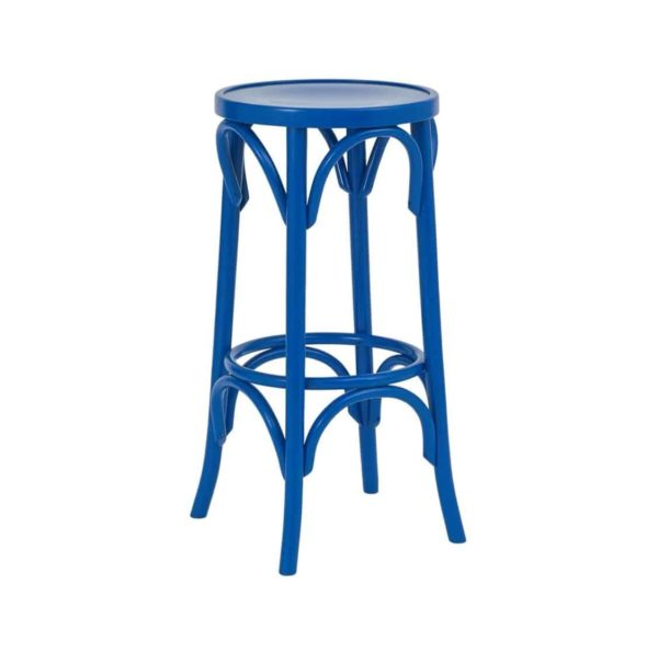 Archie Bentwood Bar Stool From DeFrae Contract Furniture Blue