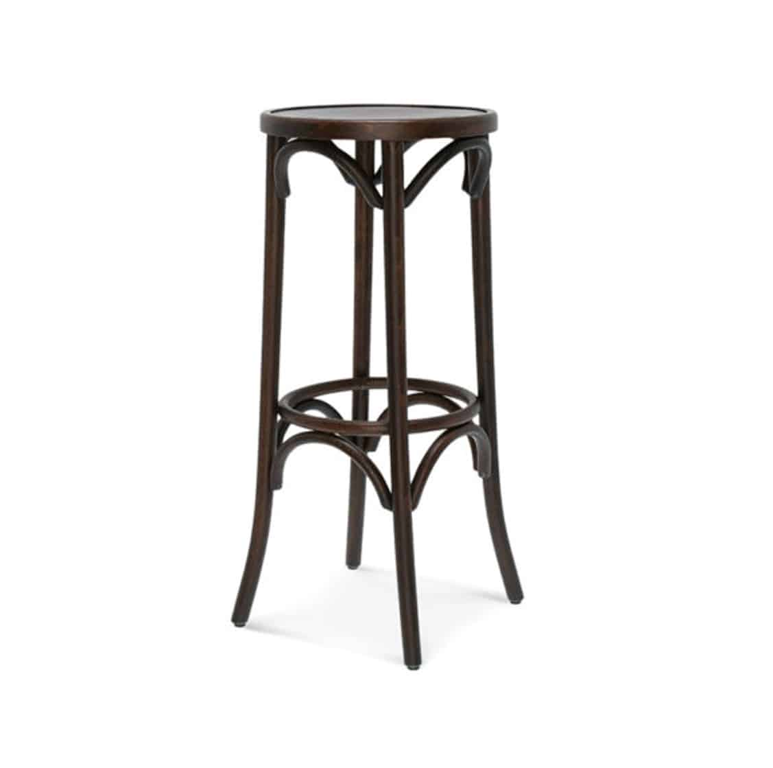 Archie Bentwood High Bar Stool From DeFrae Contract Furniture Walnut 2