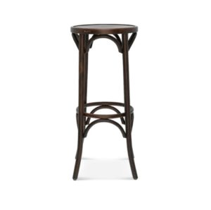 Archie Bentwood Bar Stool From DeFrae Contract Furniture Walnut