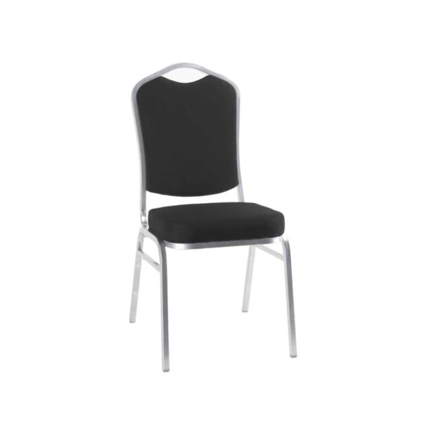 Ark Banqueting Chairs Black & Silver