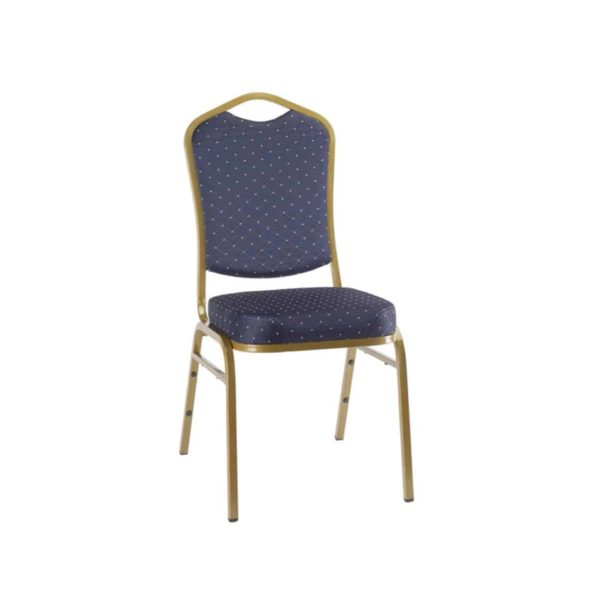 Ark Banqueting Chairs Blue & Gold