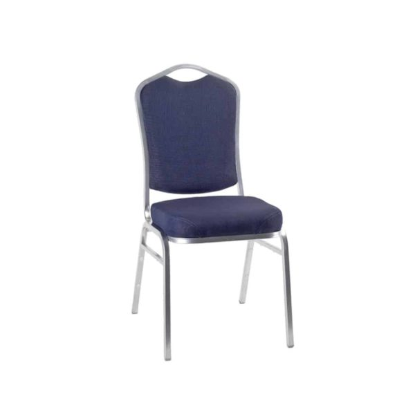 Ark Banqueting Chairs Blue & Silver