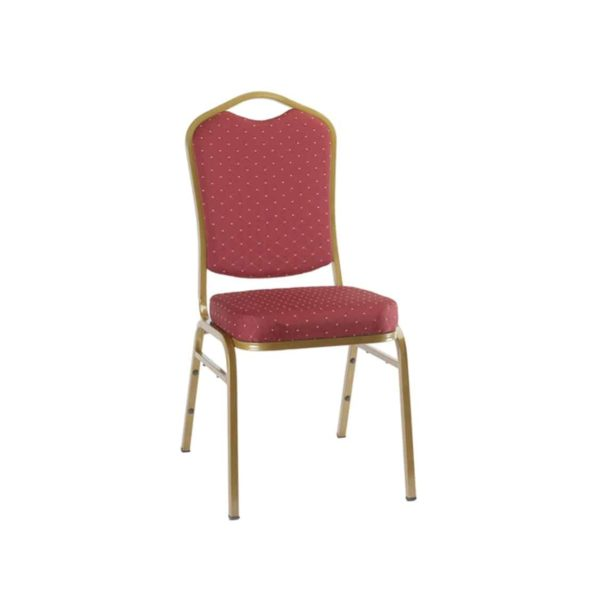 Ark Banqueting Chairs Red & Gold