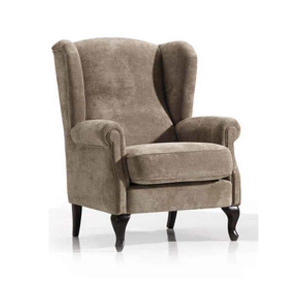 Artie wingback armchair DeFrae Contract Furniture
