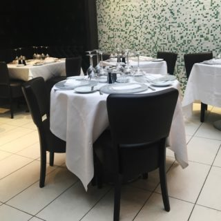Restaurant furniture by DeFrae Contract Furniture at Little Italy Soho London