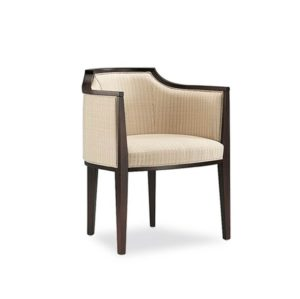 Aston Lounge tub chair Armchair DeFrae Contract Furniture Villa Tonon Main