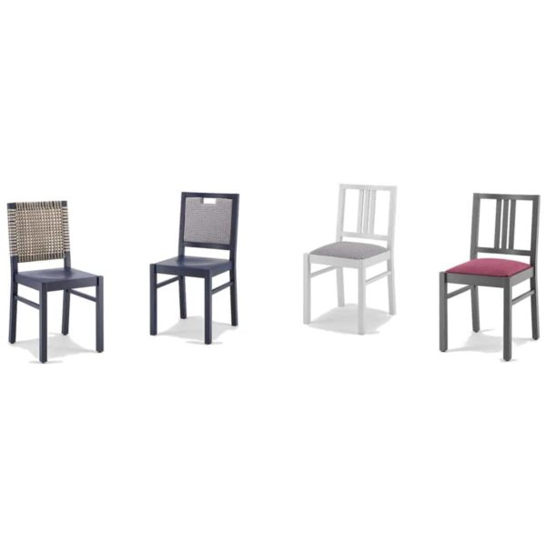 Barney Side Chair Colours FSC DeFrae Contract Furniture Xedra X-Ilaria Range
