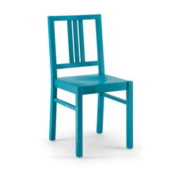 Barney Side Chair FSC DeFrae Contract Furniture Xedra X-Ilaria Blue