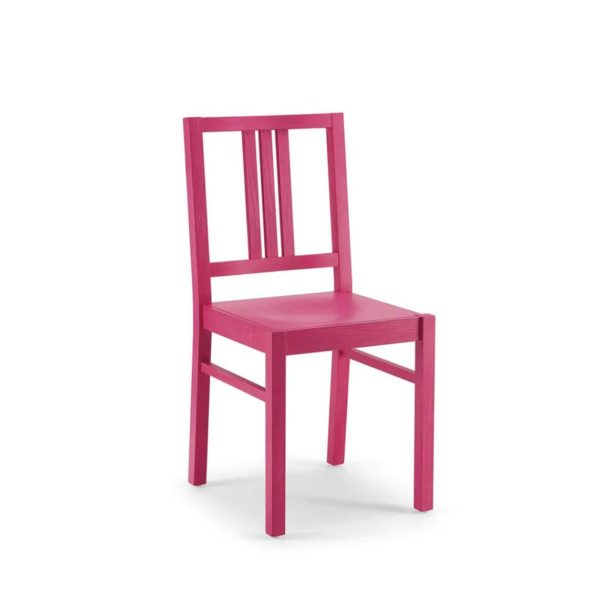 Barney Side Chair FSC DeFrae Contract Furniture Xedra X-Ilaria Pink