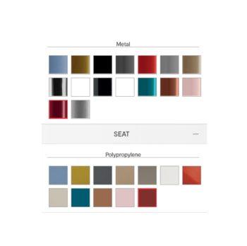 Basil Side Chair Calligaris Colours