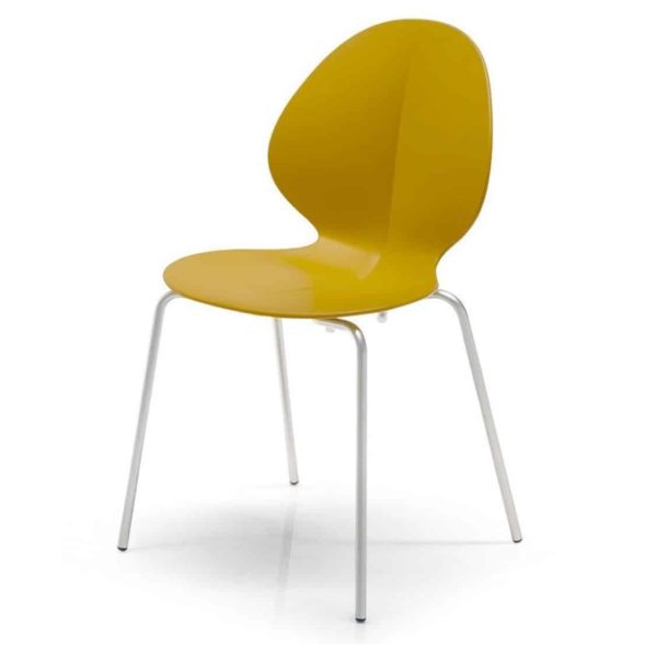 Basil Side Chair Calligaris available from DeFrae Contract Furniture