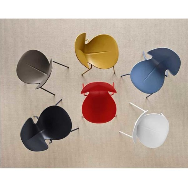 Basil Side Chair Calligaris available from DeFrae Contract Furniture Stackable Colours Range