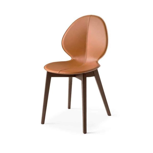 Basil Wood Side Chair Calligaris available from DeFrae Contract Furniture