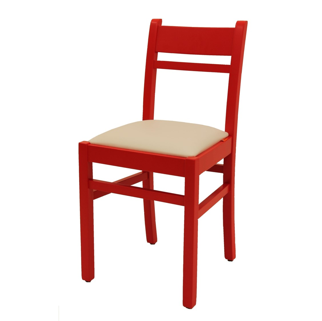Benny Wood Side Chair DeFrae Contract Furniture