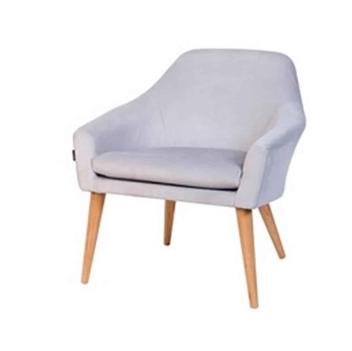 Bertie Armchair DeFrae Contract Furniture Grey