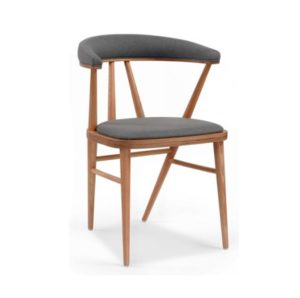 Bettie side chair DeFrae Contract Furniture Bette Est Front Fenable