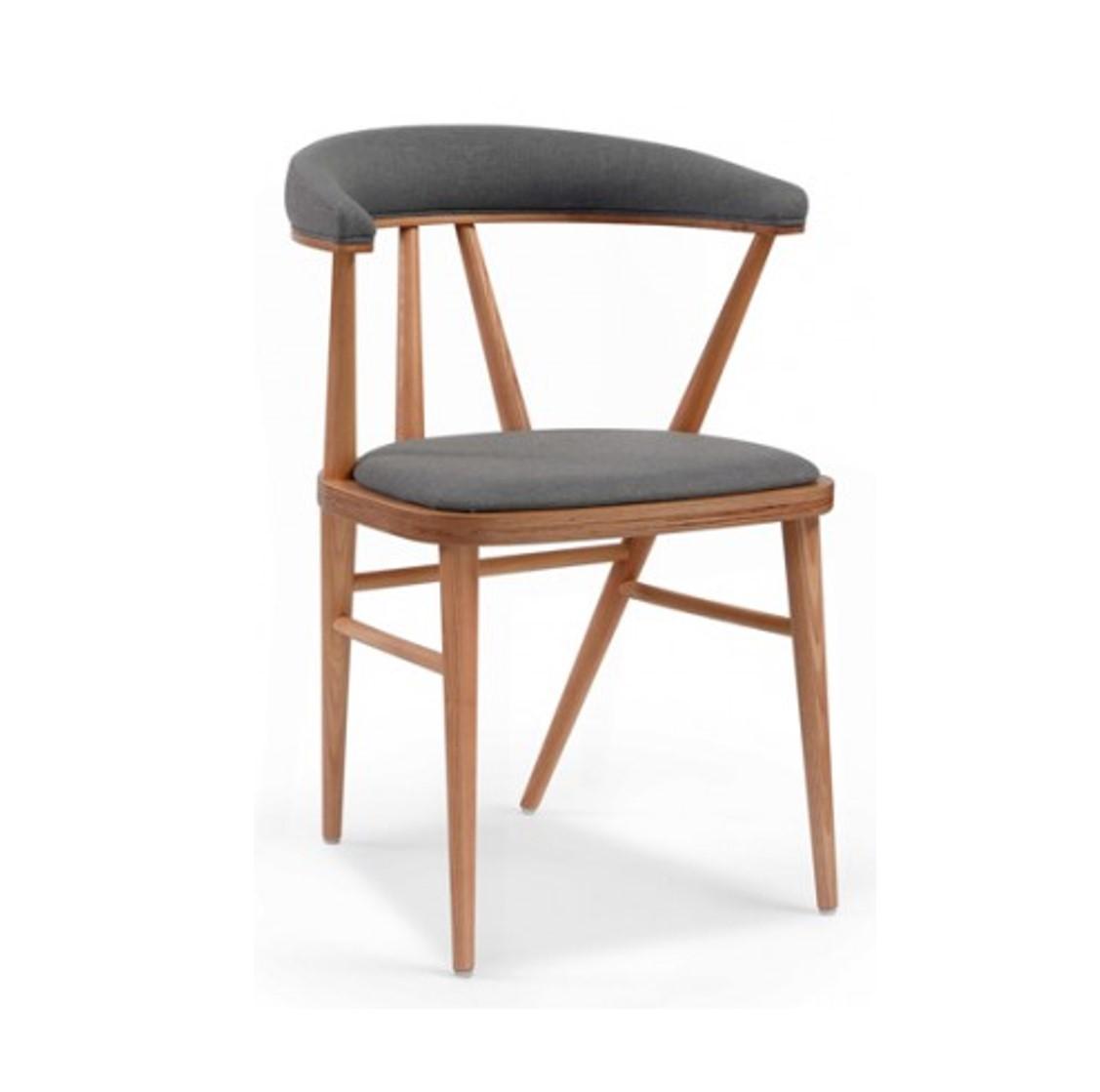 Bettie side chair DeFrae Contract Furniture Bette Est Front Fenable