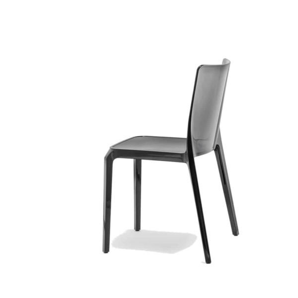 Blitz outside chair Pedrali DeFrae Contract Furniture black