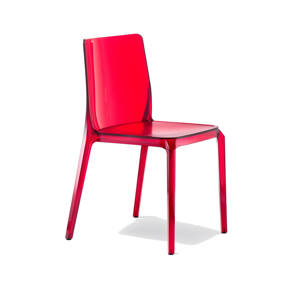 Blitz outside chair Pedrali DeFrae Contract Furniture red