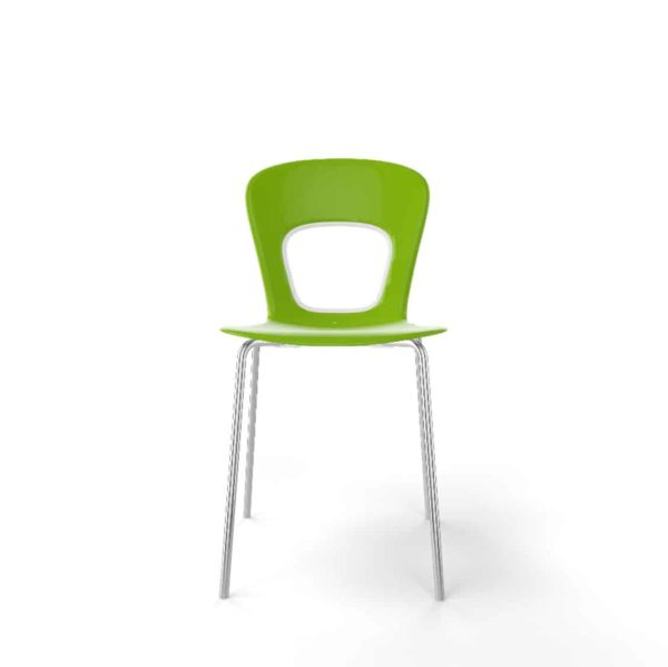 Blog Side Chair Gaber at DeFrae Contract Furniture Lime Green