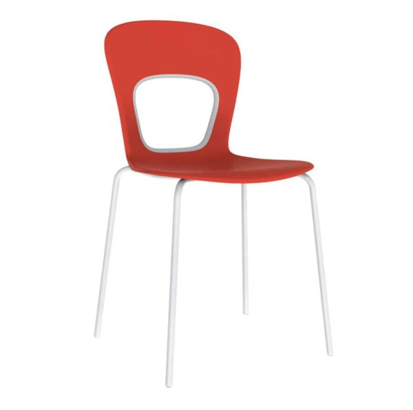 Blog Side Chair Red Gaber at DeFrae Contract Furniture
