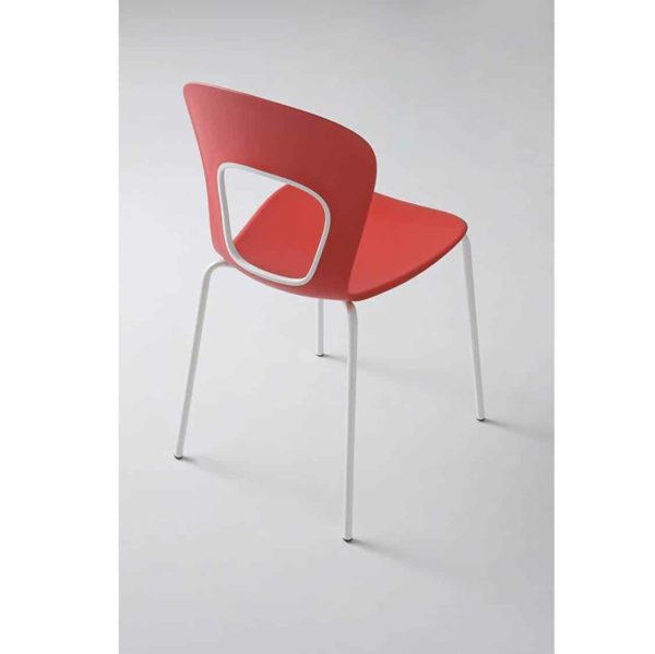 Blog Side Chair Red Gaber at DeFrae Contract Furniture Back