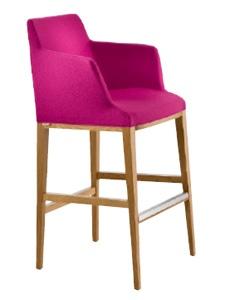 Bloom Bar Stool With Armrests
