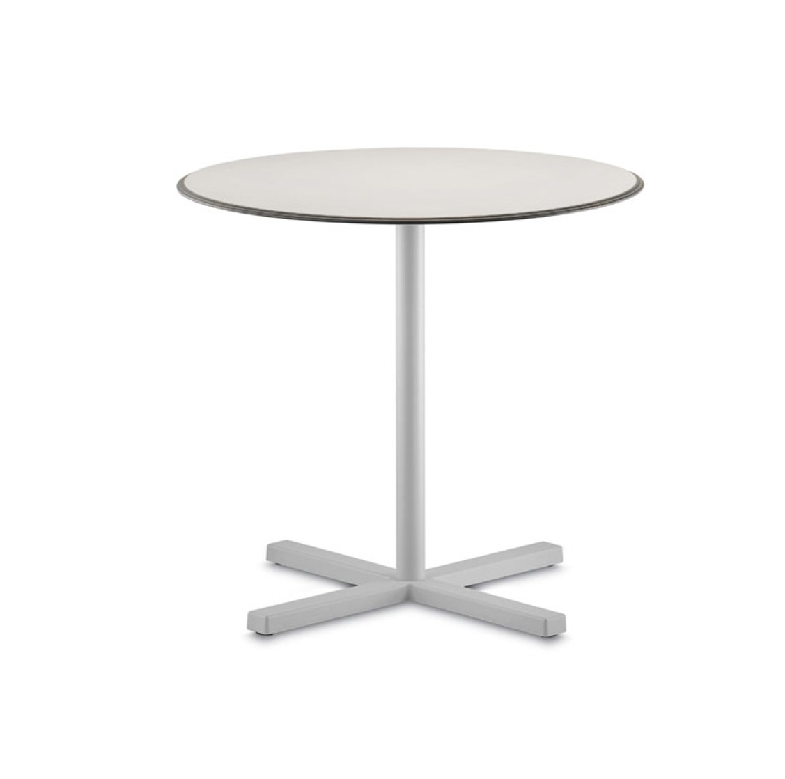 Bold Table Base Pedrali DeFrae Contract Furniture White
