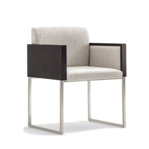 Box armchair at DeFrae Contract Furniture by Pedrali