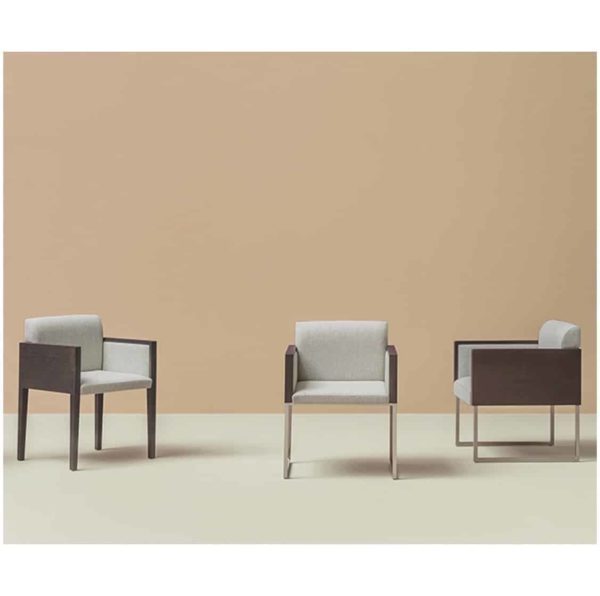 Box armchair at DeFrae Contract Furniture by Pedrali Range