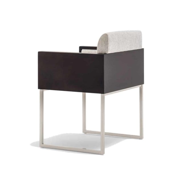 Box armchair at DeFrae Contract Furniture by Pedrali Side Back View
