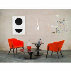Bud Table Bloom Ton DeFrae Contract Furniture in Situ