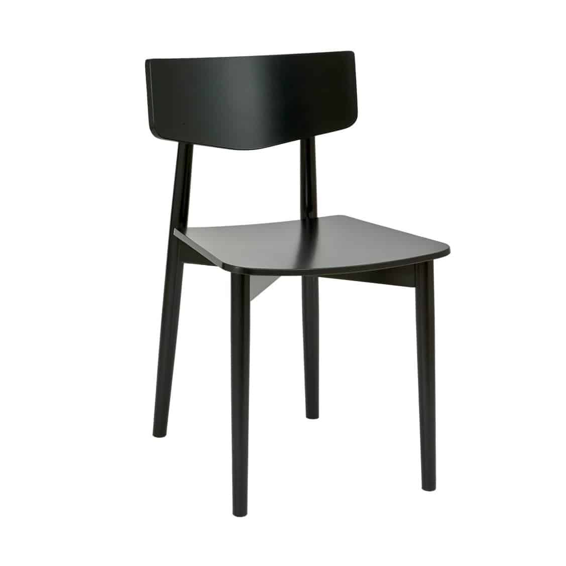 Cameron Side Chair DeFrae Contract Furniture wood chair