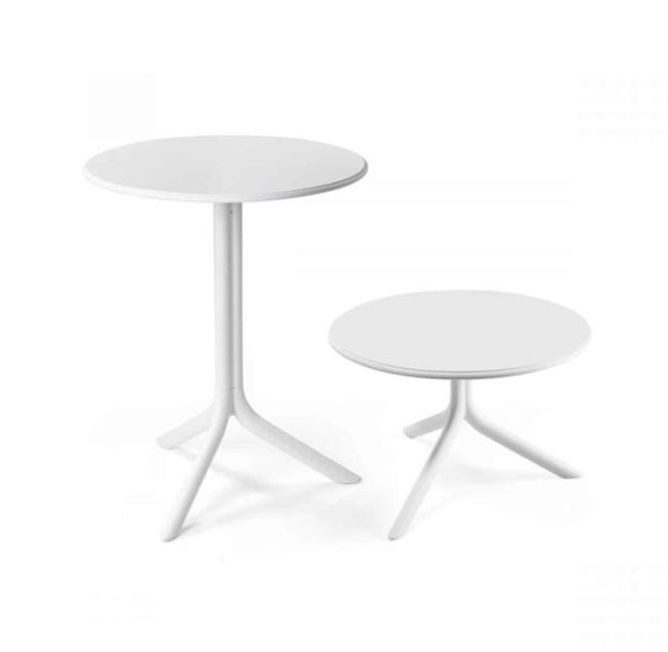 Candy Table Nardi Spritz DeFrae Contract Furniture Dining and Coffee Table height White