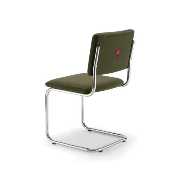 Ceska Side Chair Cantileve Base DeFrae Contract Furniture Back